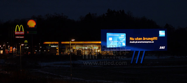 outdoor fixed LED displays